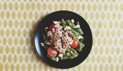 salata de fasole verde cu ton